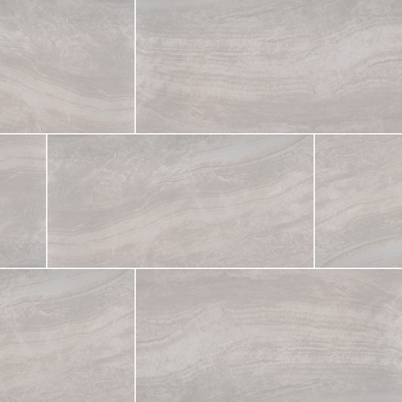 Praia Grey Porcelain Tile