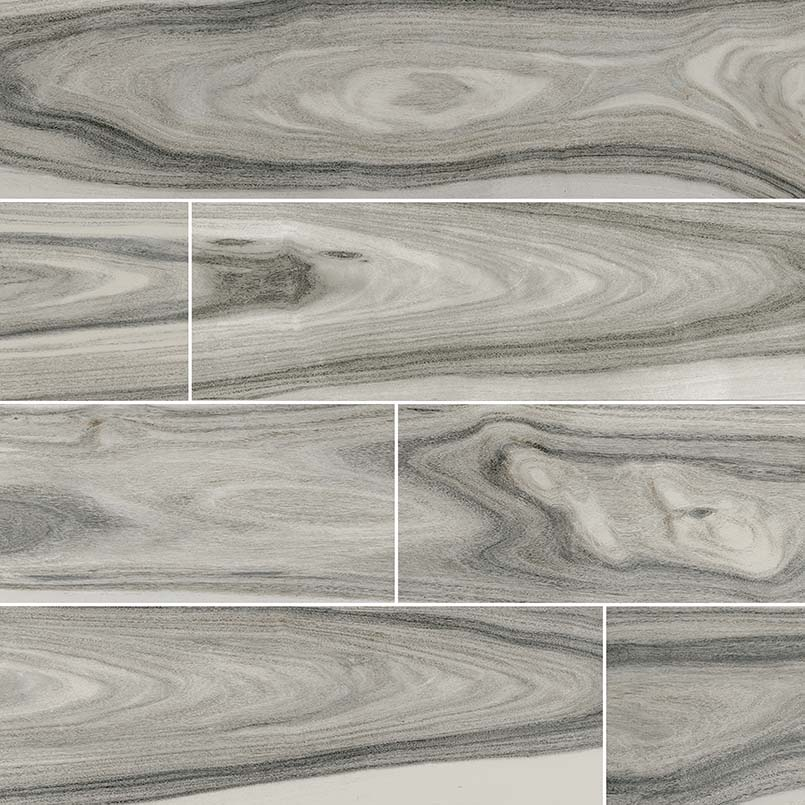 Delano Moss Gray Porcelain Wood Look