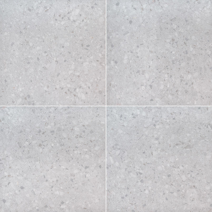 Arterra Pavers Terrazo Glacier Porcelain Tile