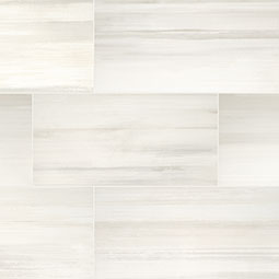 Watercolor Bianco Porcelain Tile