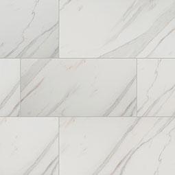 Pietra Calacatta Porcelain Tile 12x24 Matte