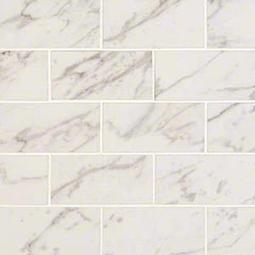 Pietra Carrara 2x4 Porcelain Tile