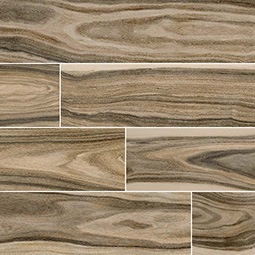 Dellano Deep Bark Wood Look Porcelain Tile