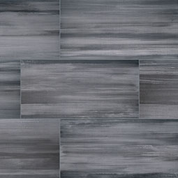Watercolor Graphite Porcelain Tile