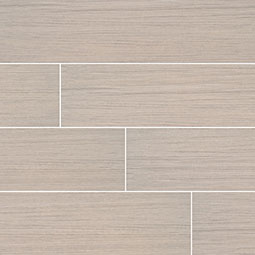 Sygma Ice - White tile Wood Look Porcelain Tile