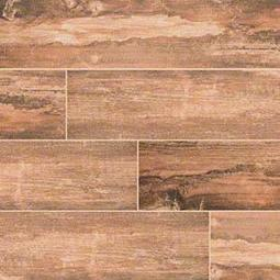 Red Salvage Porcelain Wood Tile