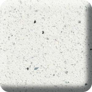 Sparkling White Quartz Countertop