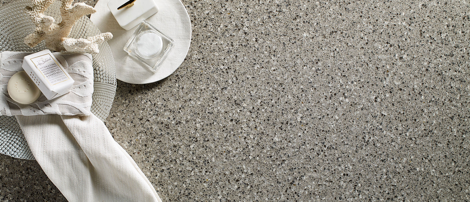 Alpine Gray Quartz Countertops