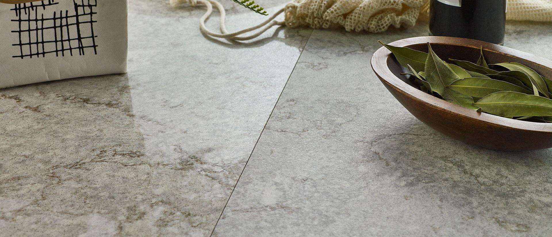 Gray Lagoon Concrete Quartz Vignette 2