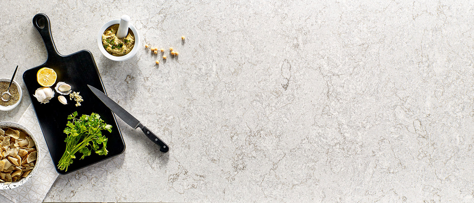 Gray Lagoon Concrete Quartz Vignette 3