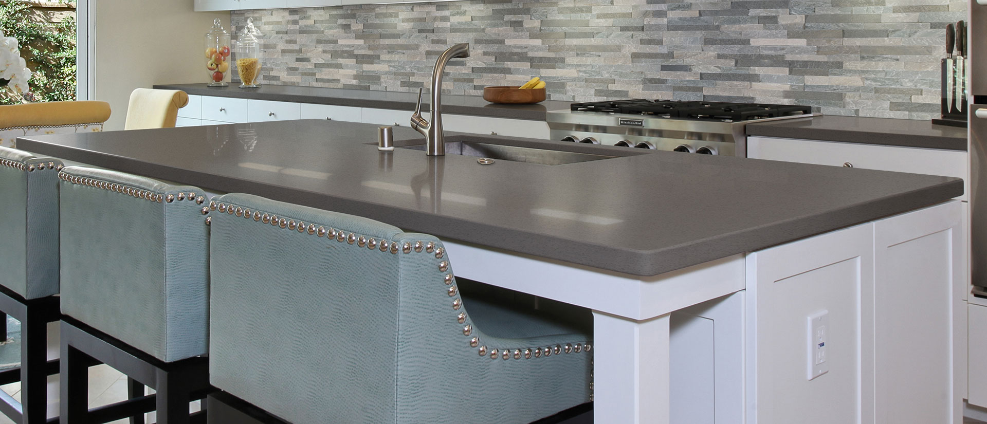 Iced Grey Quartz Countertops
