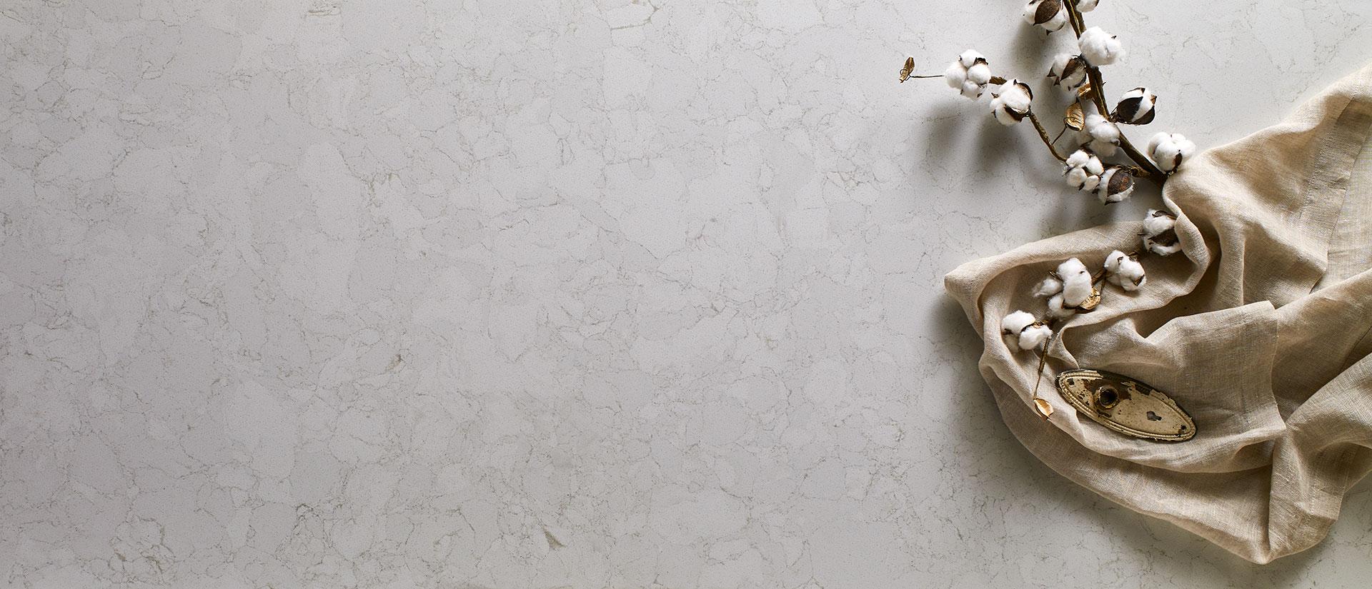 Marbella White Quartz Vignette