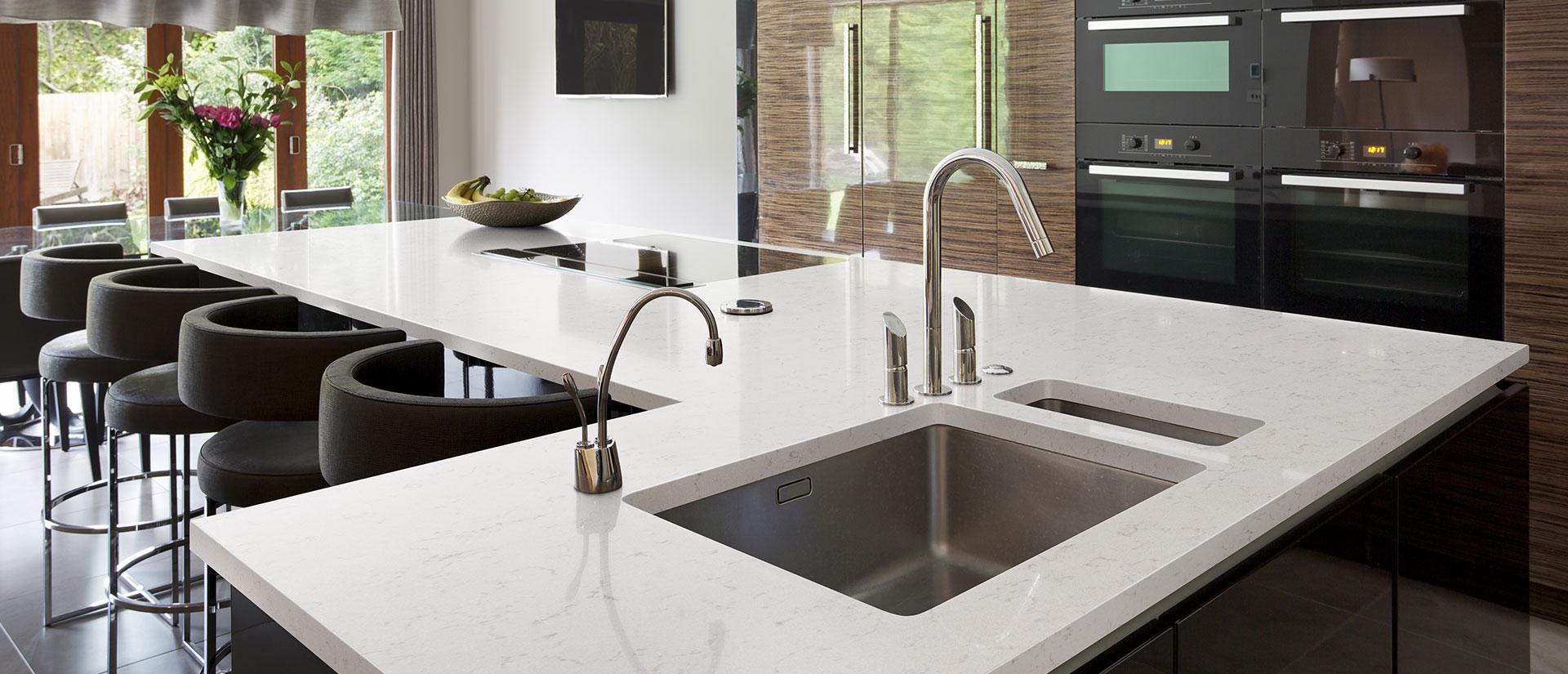 New Carrara Marmi Quartz Countertops Q White Quartz