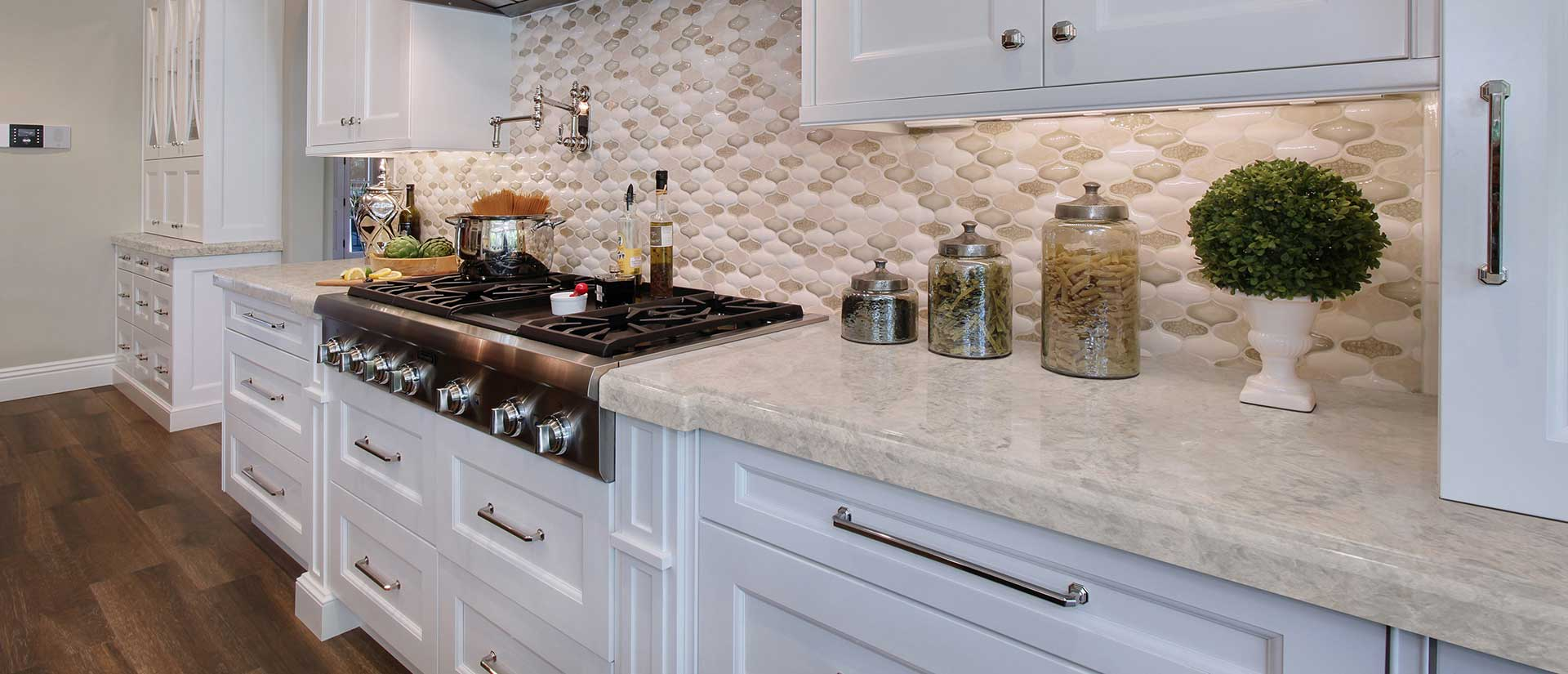 Portico Cream Quartz Countertops