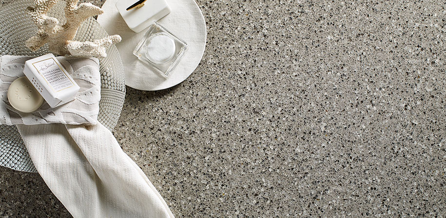 Alpine Gray Quartz Countertops
