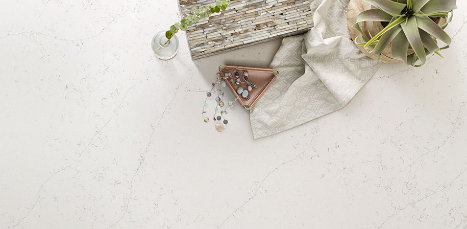 Calacatta Botanica Marble Looking Quartz