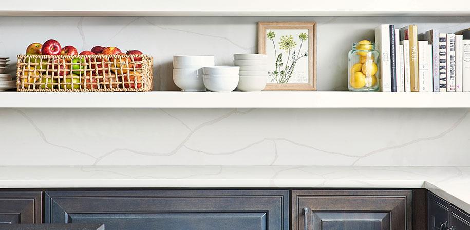 Calacatta Classique Marble Look Quartz