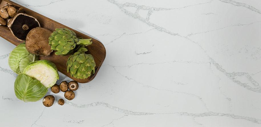 Calacatta Verona Marble Looking Quartz