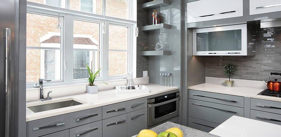 Frost White Quartz Countertops | Q Premium Natural Quartz