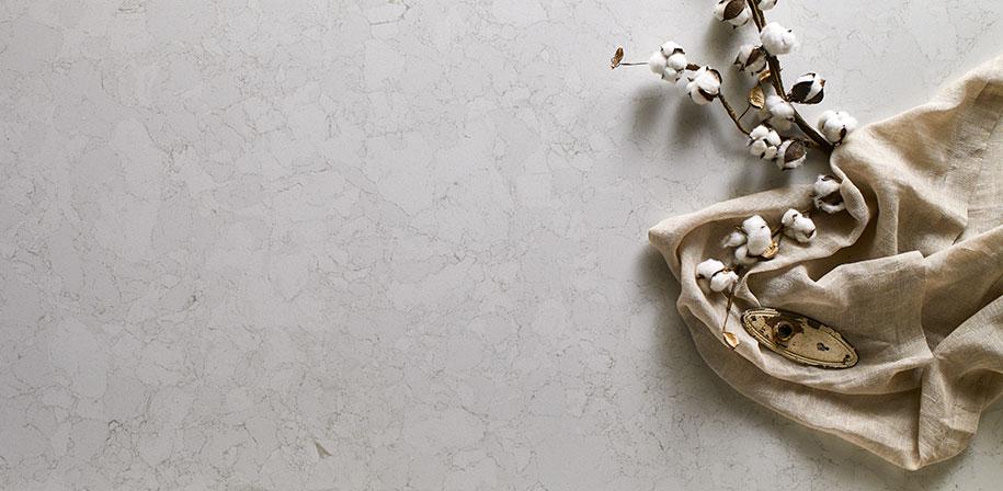 Marbella  White Marble Look Quartz