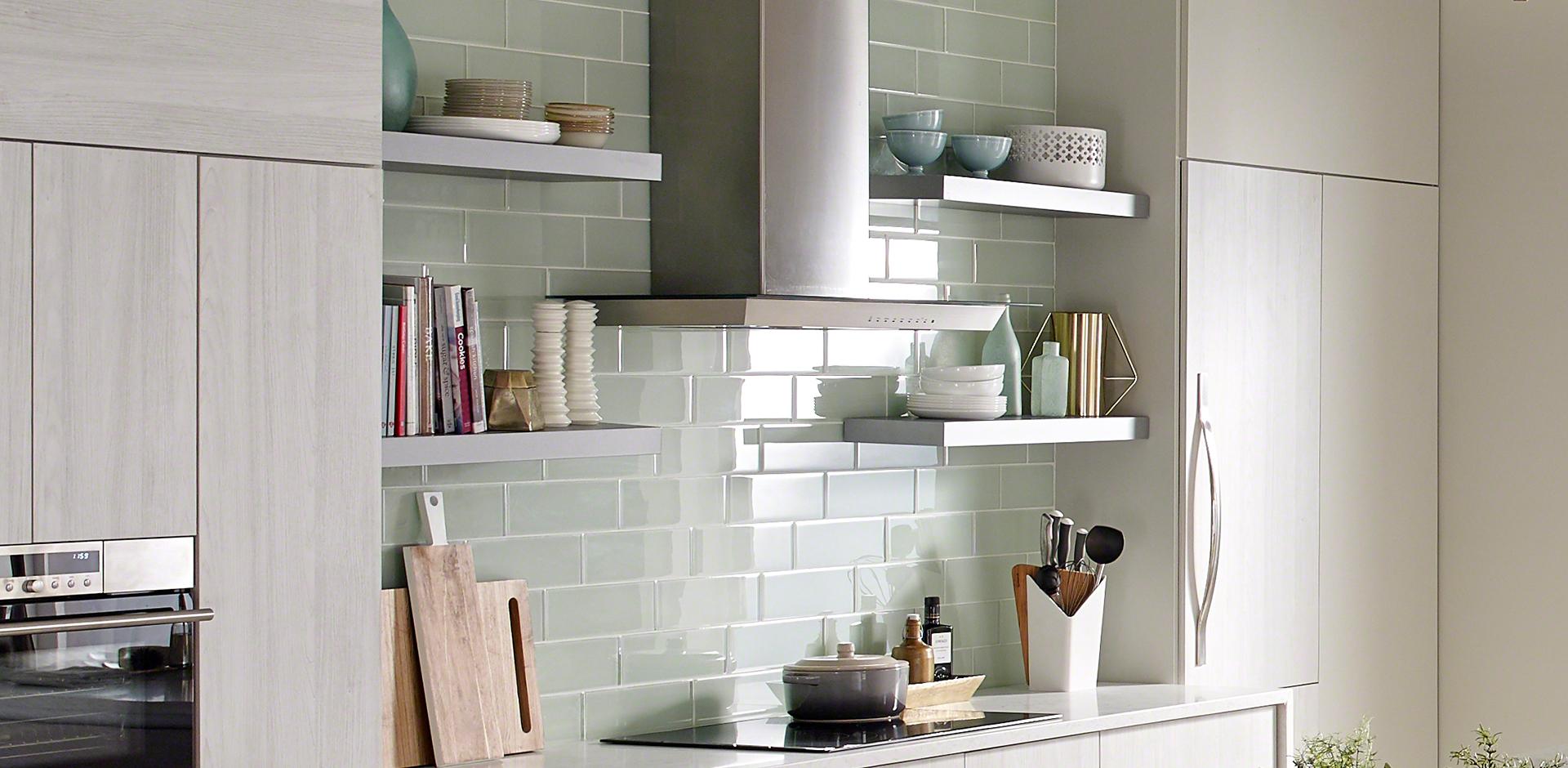 - Kitchen Room Scene Marbella White Quartz