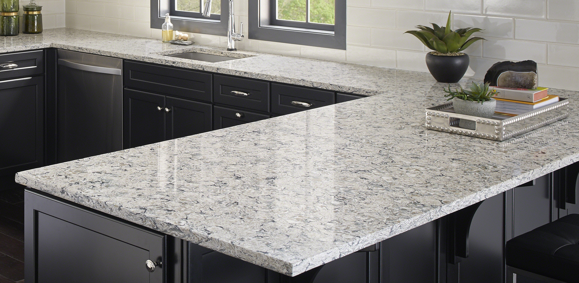 Pacific Salt Quartz Countertops