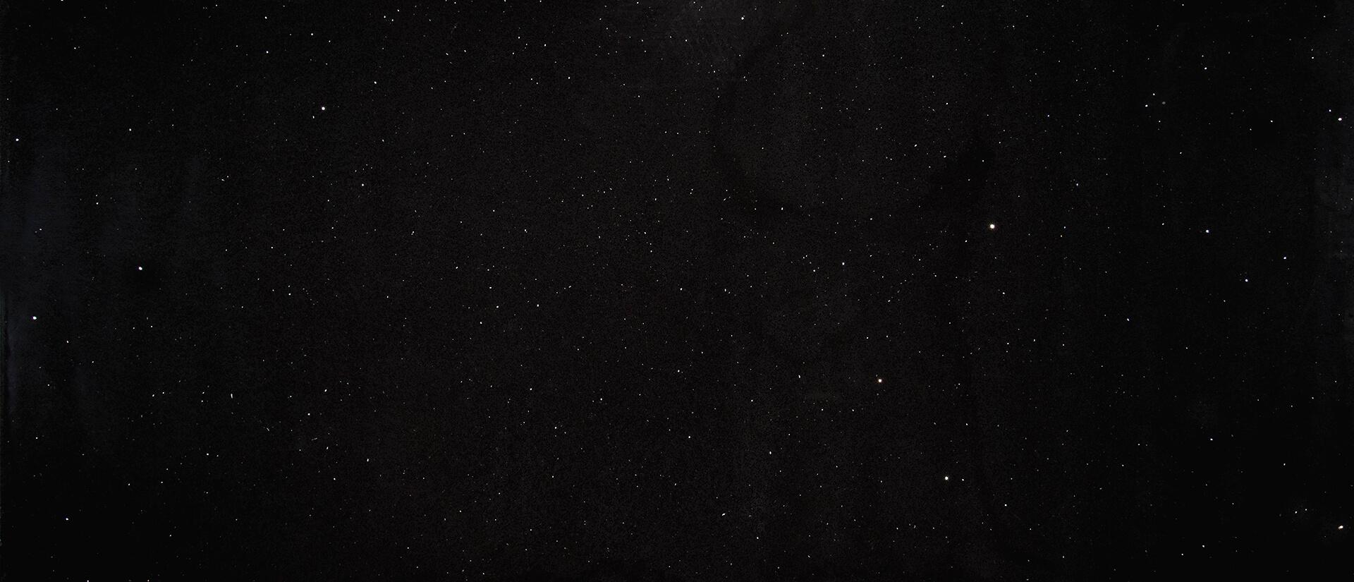 Sparkling Black Slab - Black Quartz