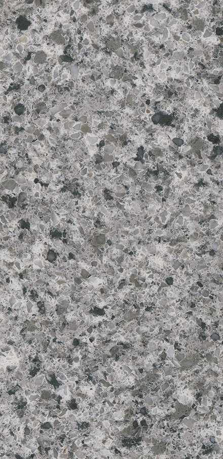 Pearl Gray Quartz Slab