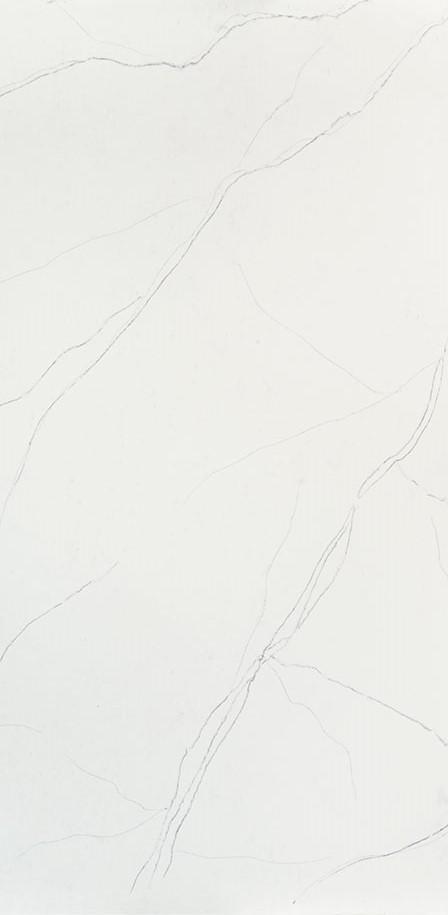CALACATTA TREVI<sup>&#8482</sup> - Quartz White Marble Looks CloseUp
