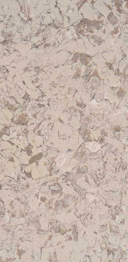 Romano White<sup>&reg</sup> - Quartz White Marble Looks CloseUp