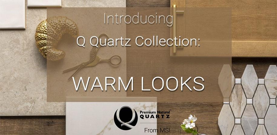 Quartz White Marble Looks