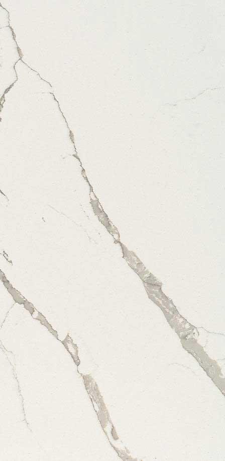 Calacatta Laza  Quartz  Closeup