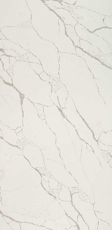 Calacatta Laza White Quartz Slab