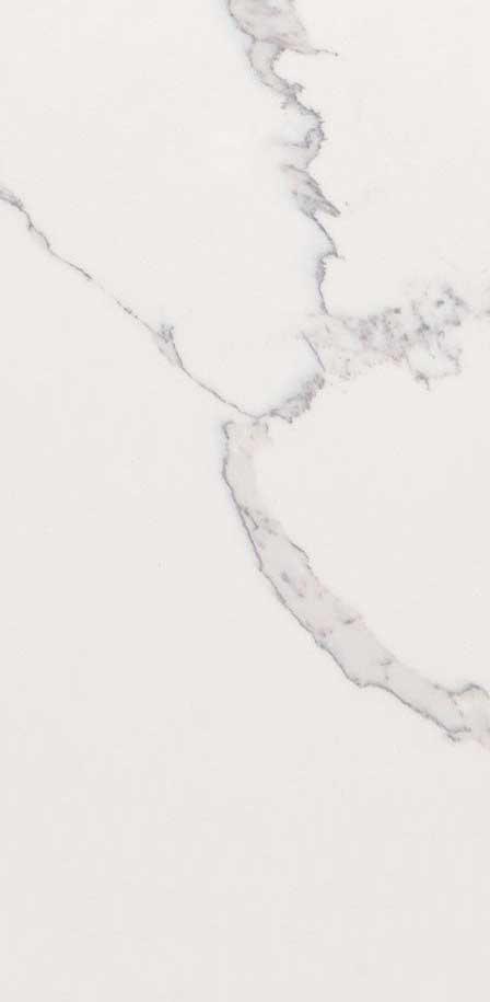 Statury Classique White Quartz Countertops Closeup
