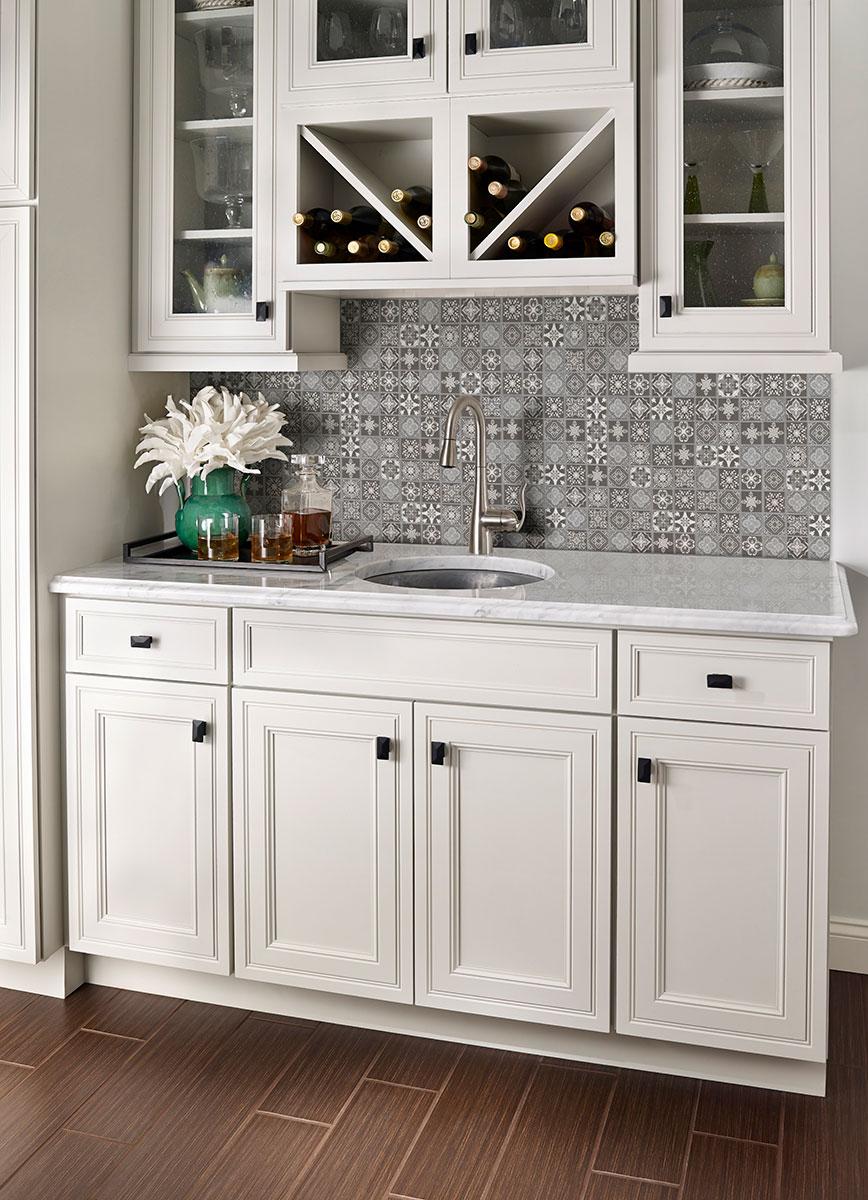 Anya Charcoal 2x2x6mm Backsplash Tile Wall Tile Mosaics