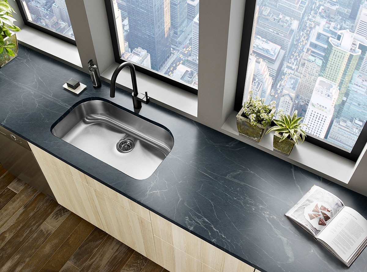 Black Soapstone | Soapstone Countertops & Slabs on silestone countertops, marble countertops, corian countertops, quartz countertops, butcher block countertops, slate countertops, hanstone countertops, paperstone countertops, solid surface countertops, black countertops, copper countertops, stone countertops, agate countertops, metal countertops, concrete countertops, gray limestone countertops, bamboo countertops, obsidian countertops, granite countertops, kitchen countertops,