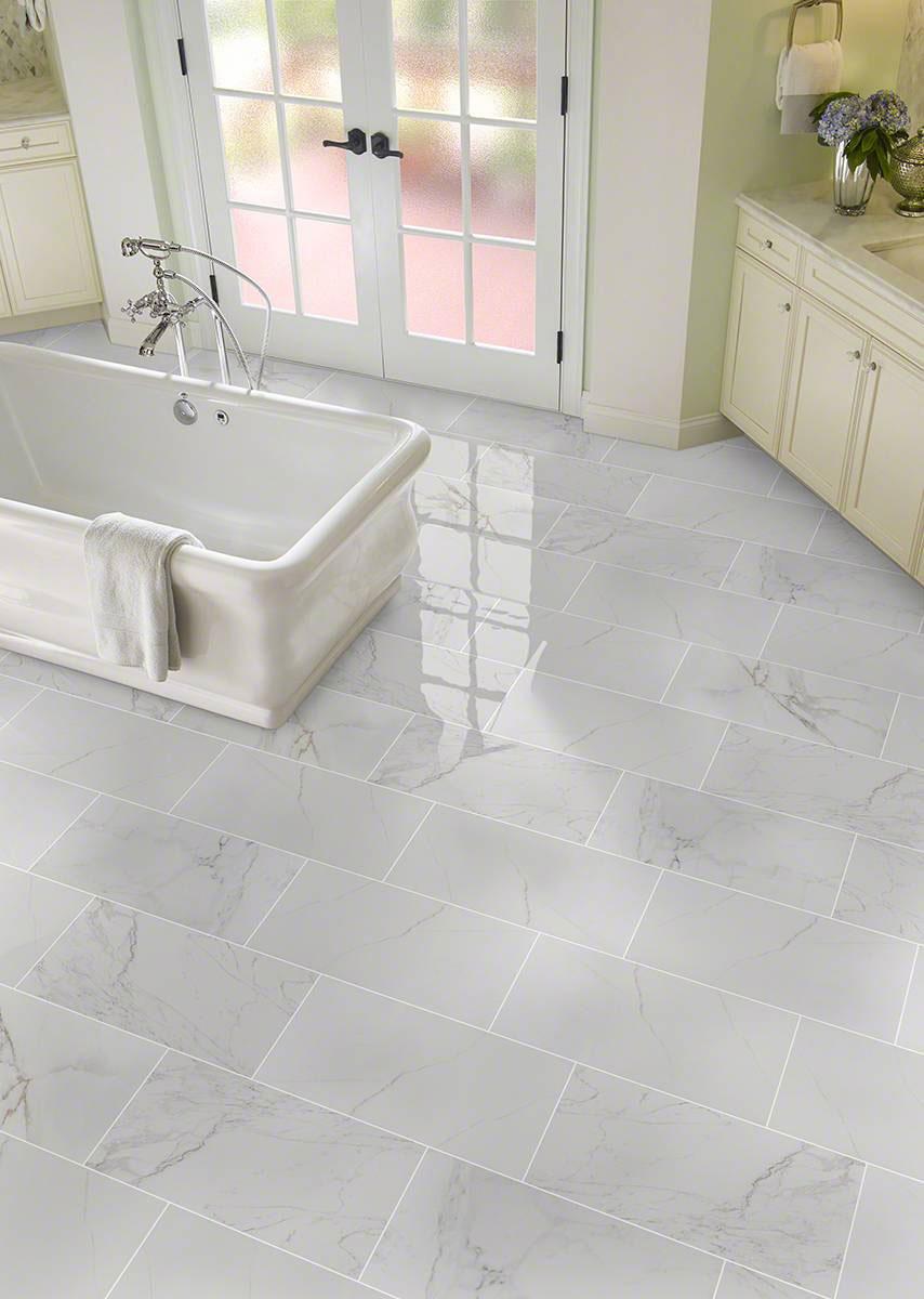 Carrara Porcelain Tile  Pietra Collection  Tile Flooring