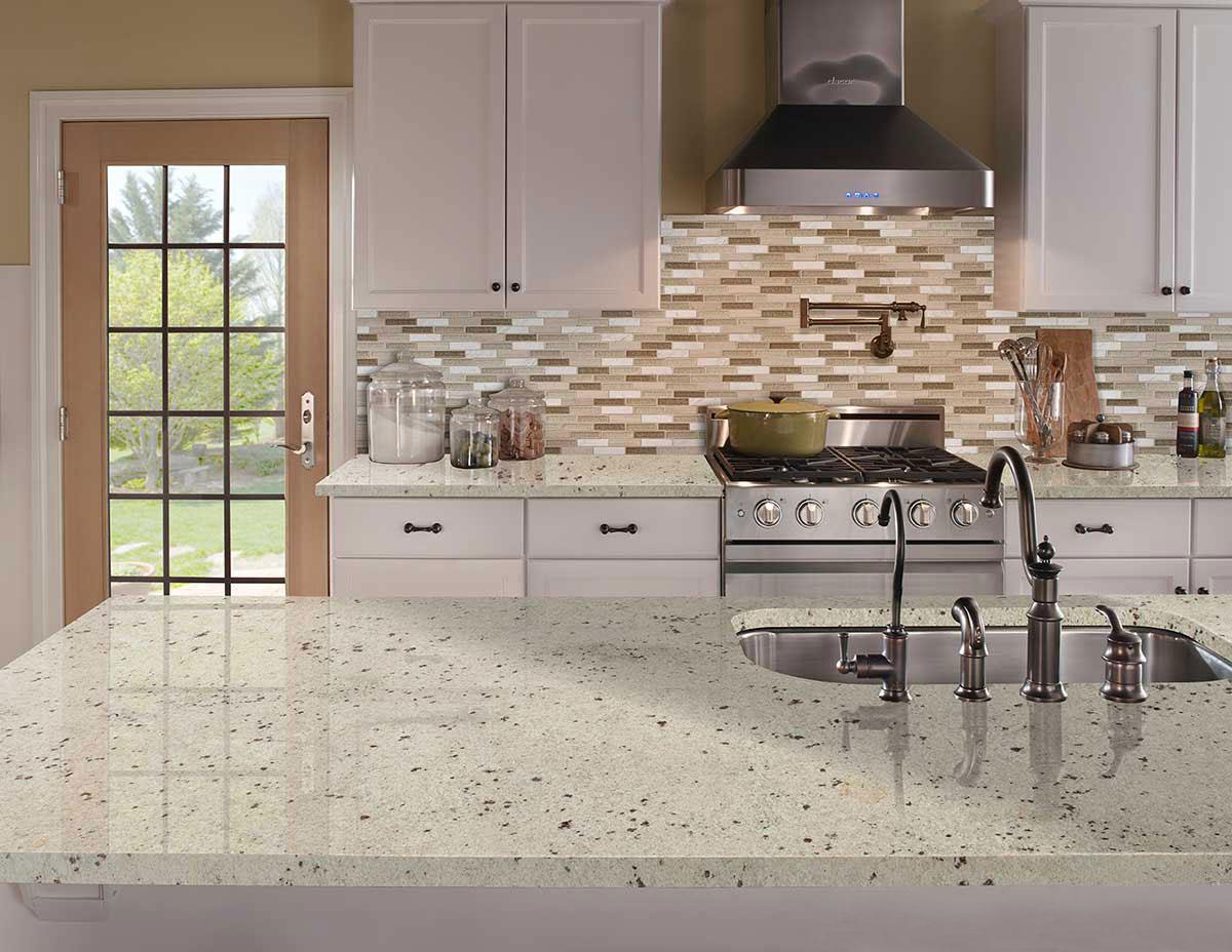 Colonial White Granite Countertops Slabs