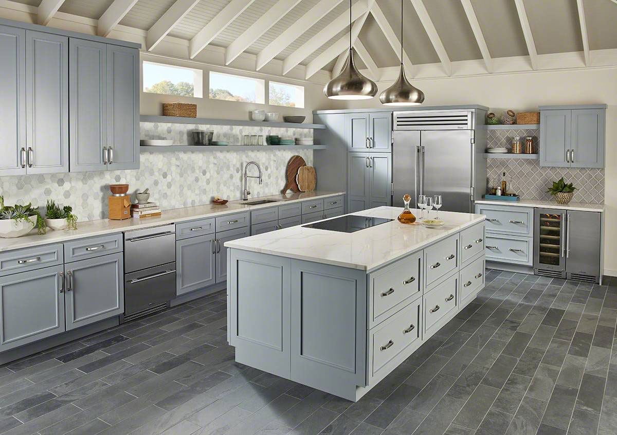 Dove Gray Brick Pattern 8mm Ceramic Backsplash Tile