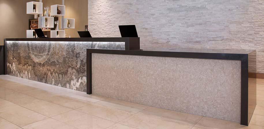 Elegant White Marble Room Scene