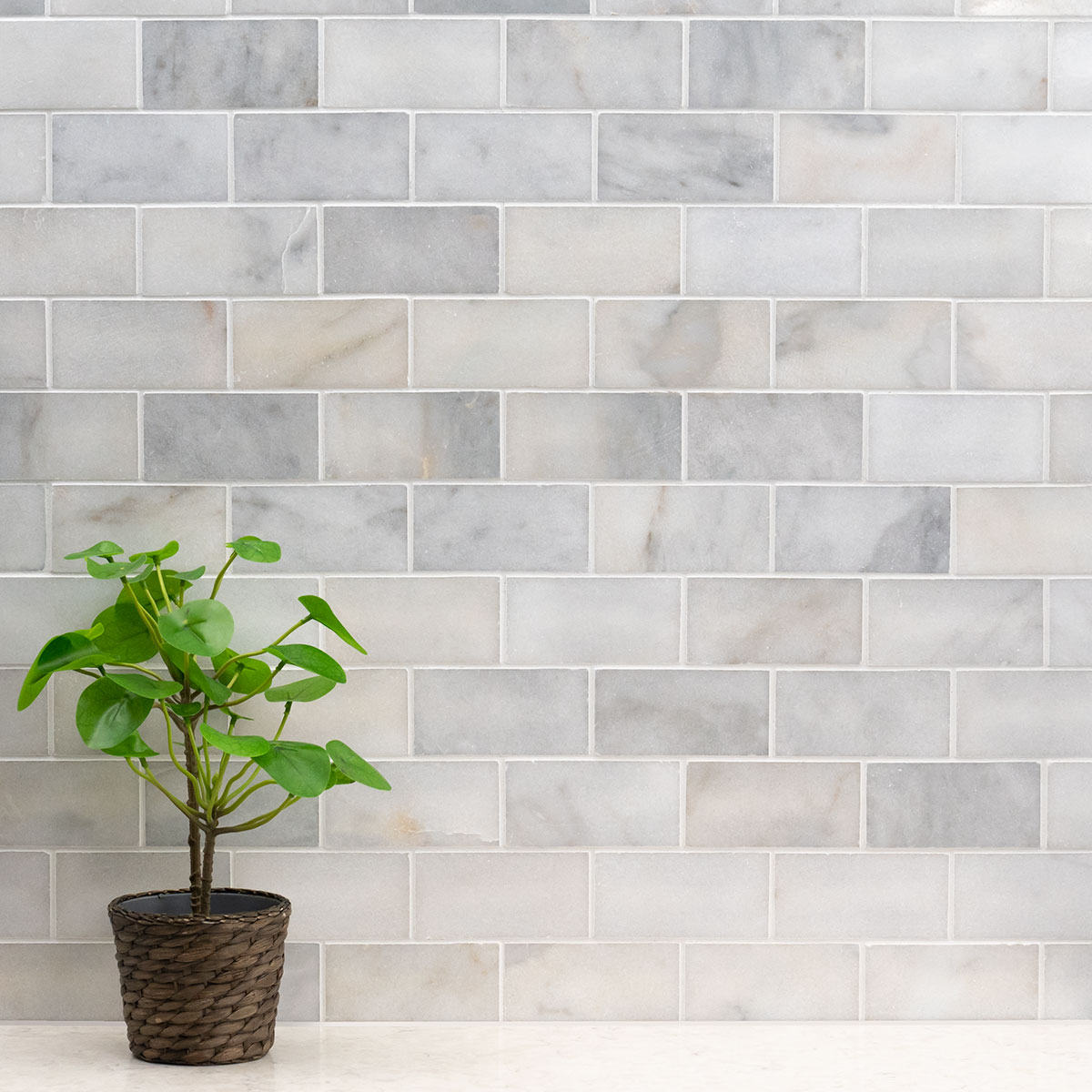 Greecian White Marble Subway Tile 9x9   Subway Tile Collection