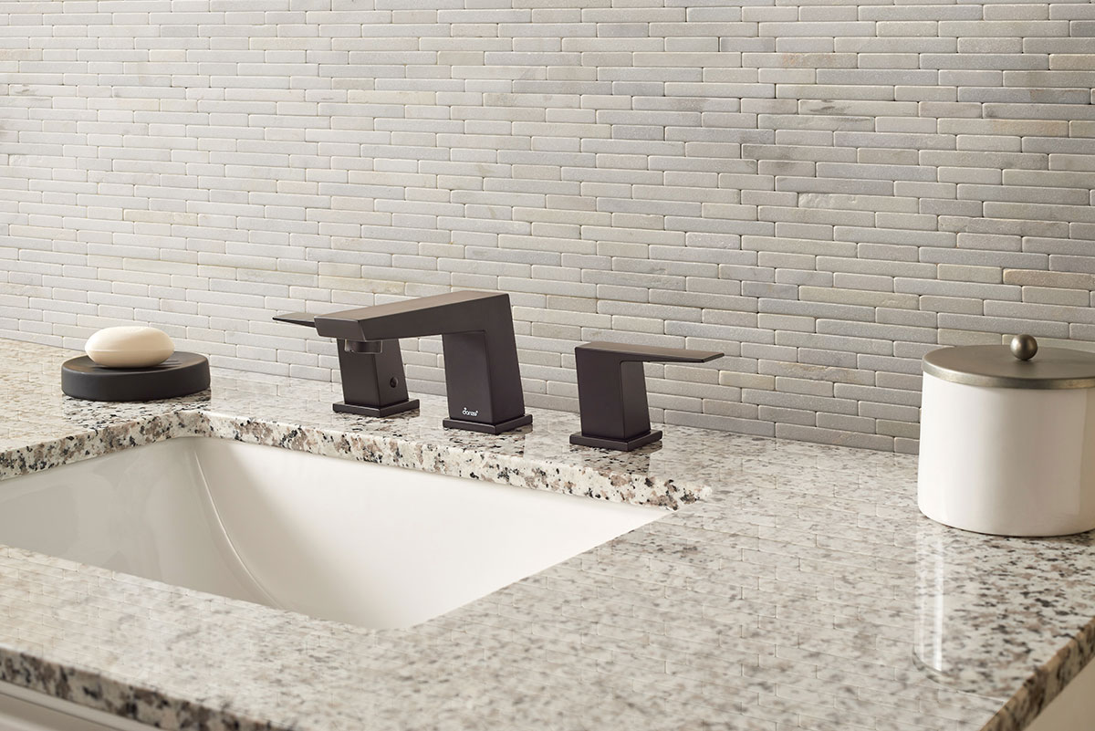 Greecian White Tumbled Veneer 9x19 Backsplash Tile