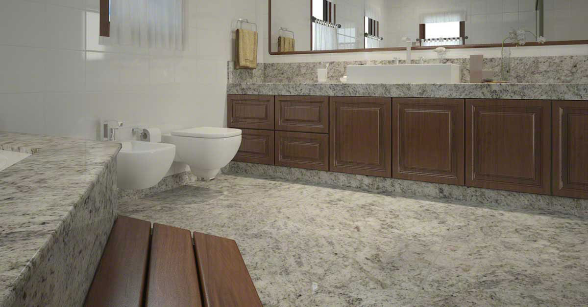 White Wall Bathroom