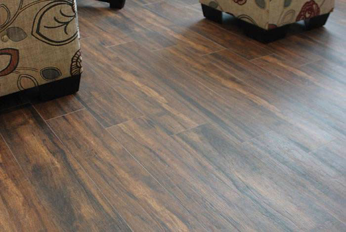 botanica teak wood look tile