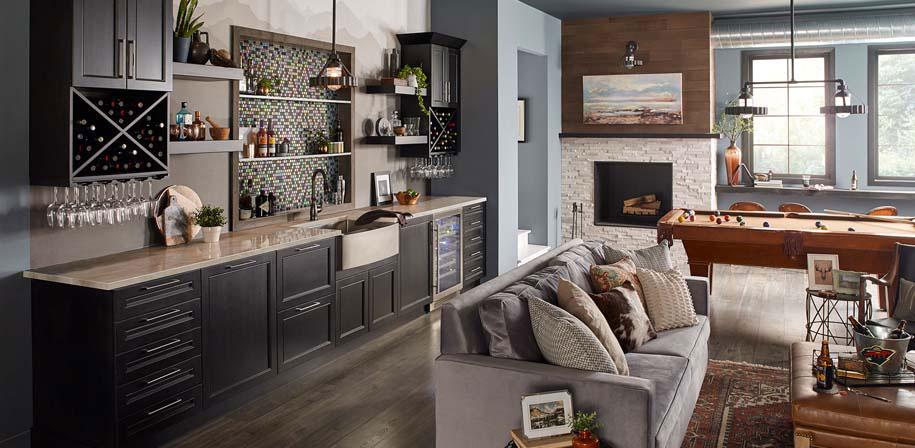 White Oak Multi Finish RoomScene