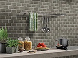Charcoal Subway Tile 2x4 A