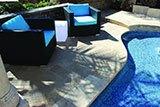 Dark Blue Blend Glass 5 8x5 8x4mm Staggered B