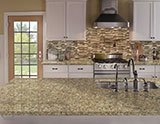 Giallo Napolean Granite_Pine Valley Interlocking Pattern 8mm A