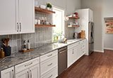 Silver Cloud Granite_Morning Fog Subway Tile 4x12 A