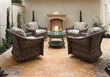 Tuscany Walnut Tumbled Pavers